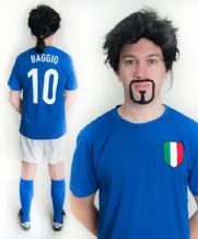 Roberto Baggio Italy Football Fancy Dress Costume
